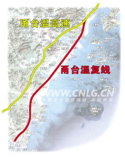 沈海高速(复线)温州段项目即甬台温高速公路复线温州段工程,是温州