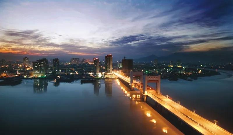 龙港城市风景图