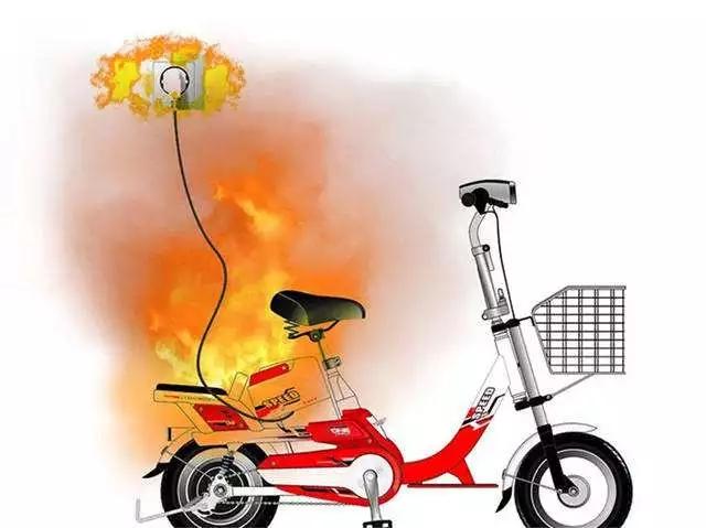 电动车充电起火很危险 龙港要从电动车充电点建设源头