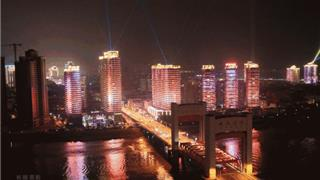 龙港年度航拍大片!这么美的夜景,震撼到你了吧!