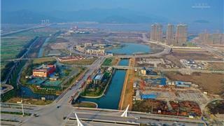 """苍南县""""三百亿""""重大项目集中开竣工龙港新城项目--竣工篇"""