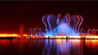 迎双节!苍南中心湖喷泉播放时间有改动!