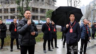 李孝取率县人大代表开展会前视察活动