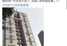 """网警辟谣:网传""""成都男子赌球跳楼""""不实"""