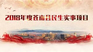"""为民办实事,请您来点题!2019年度苍南县民生实事项目公开""""海选"""""""
