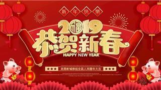 新年到,祝福到!苍南县龙港新城给全县人民拜年啦!